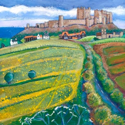 Joanne Wishart - Bamburgh Castle