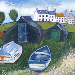 Joanne Wishart - Lindisfarne Boats